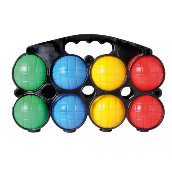 Juego de Petanca con 8 Bolas de Plástico