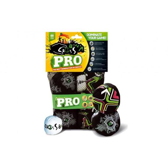 Pack de 6 Bolas y Boliche para Crossboccia de 8 Centímetros de Diámetro y 115 Gramos de Peso