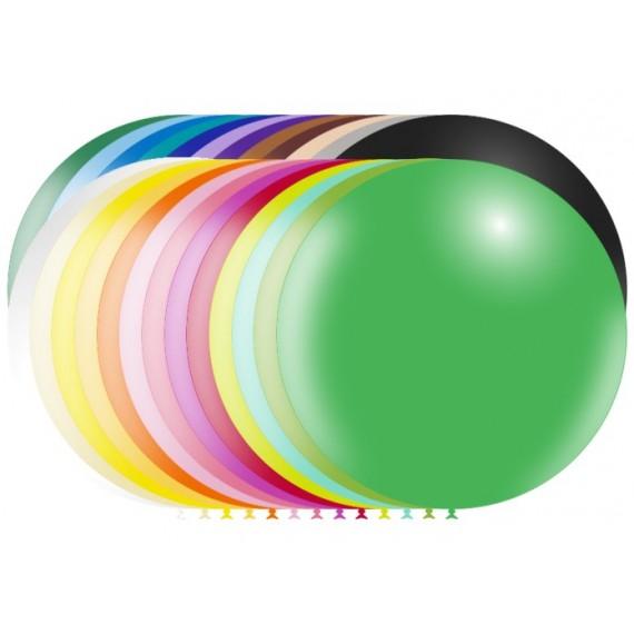 .Globo de 91 Centímetros Color Mate 100% Biodegradable