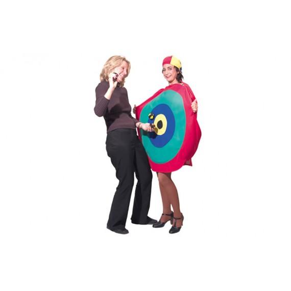 Diana Gigante con 3 Bolas de Velcro