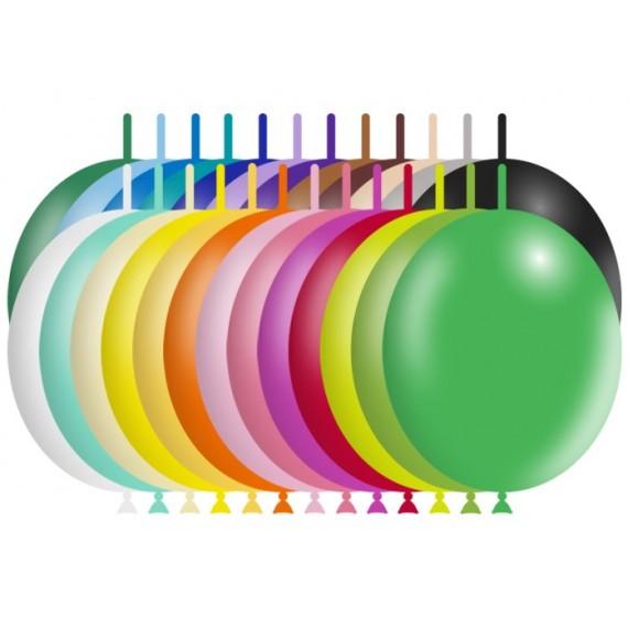 Globo Decolink 50 Unidades de 30 Centímetros Color Mate 100% Biodegradable