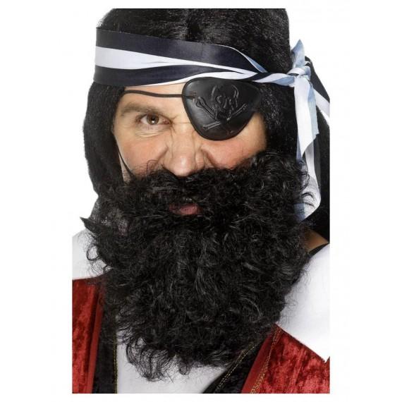 Barba Negra de Pirata Deluxe para Adulto