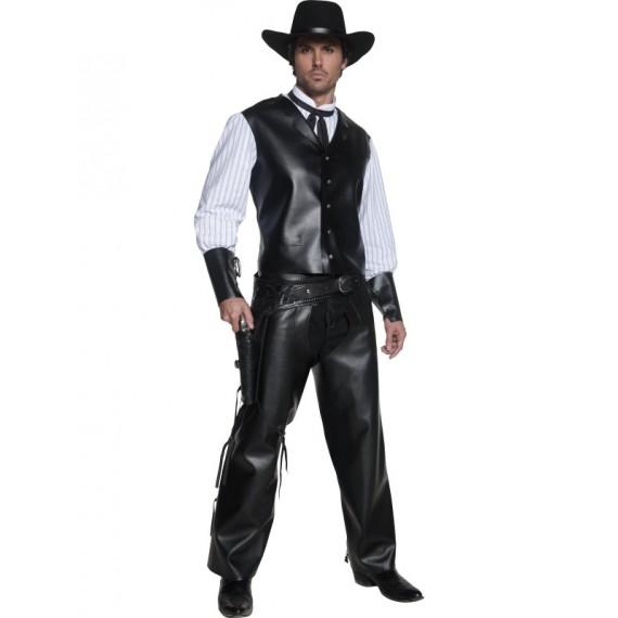 Disfraz de Pistolero del Oeste para Adulto