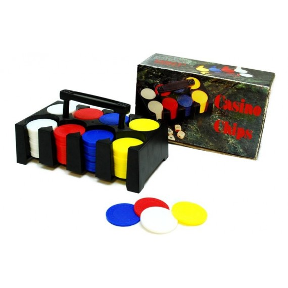 Pack de 100 Fichas de Casino