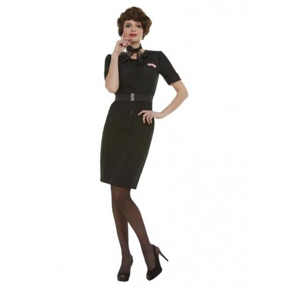 Disfraz de Rizzo de Grease de color Negro para Adulto