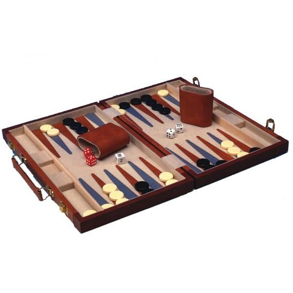 Maletín de Backgammon de 39 x 65 Centímetros