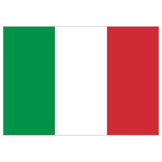 'Bandera de Italia de Poliéster Microperforada Reforzada