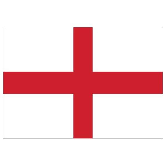 'Bandera de Inglaterra de Poliéster Microperforada Reforzada
