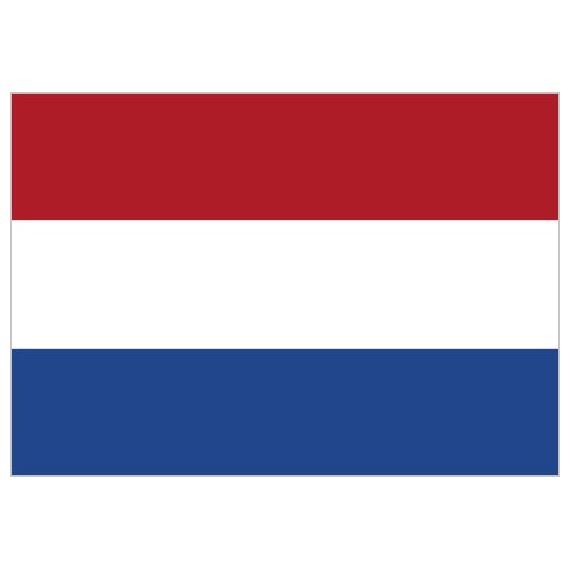 'Bandera de Holanda de Poliéster Microperforada Reforzada