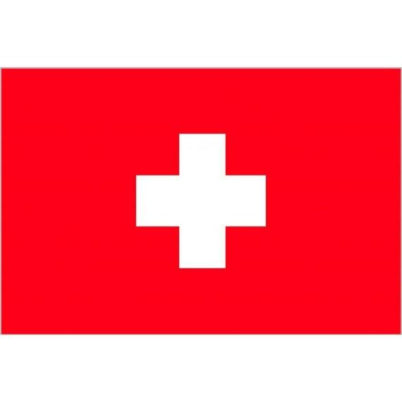 'Bandera de Suiza de Poliéster Microperforada Reforzada