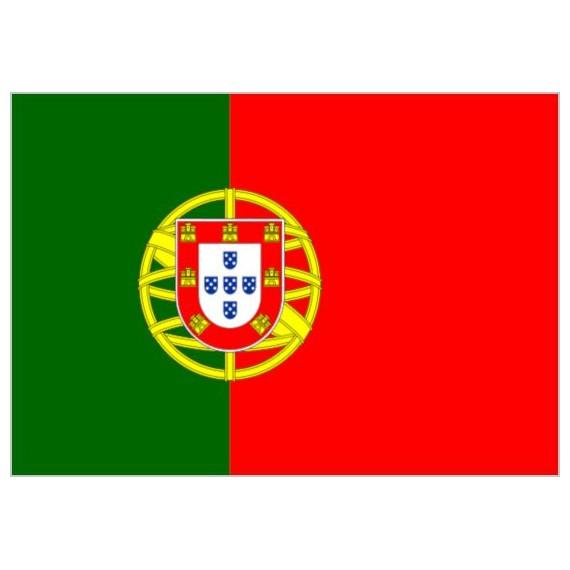 'Bandera de Portugal de Poliéster Microperforada Reforzada