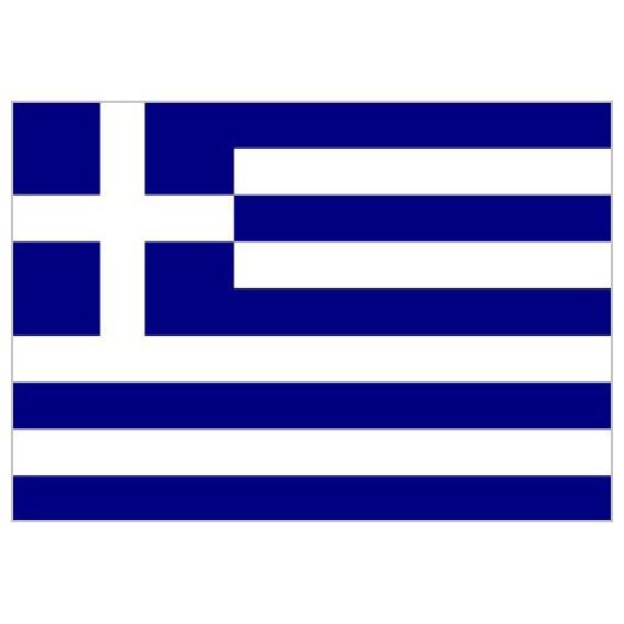 Bandera de Grecia de Poliéster Microperforada Reforzada