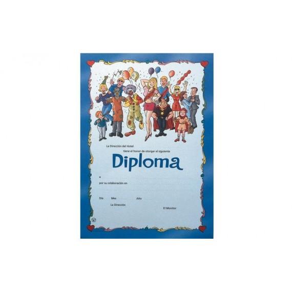 Diploma para Animación de Noche