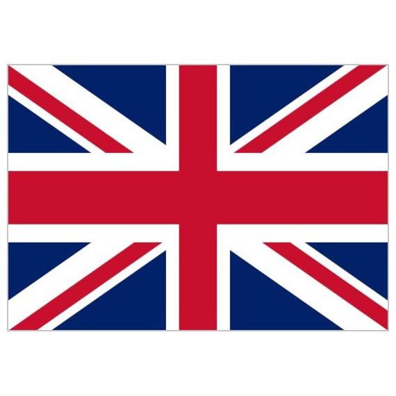 Bandera de Gran Bretaña de Poliéster Microperforada Reforzada