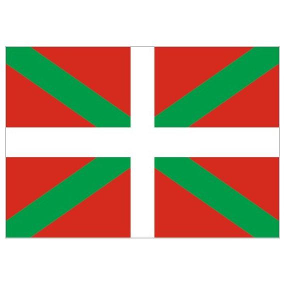 Bandera de Euskadi de Poliéster Microperforada Reforzada