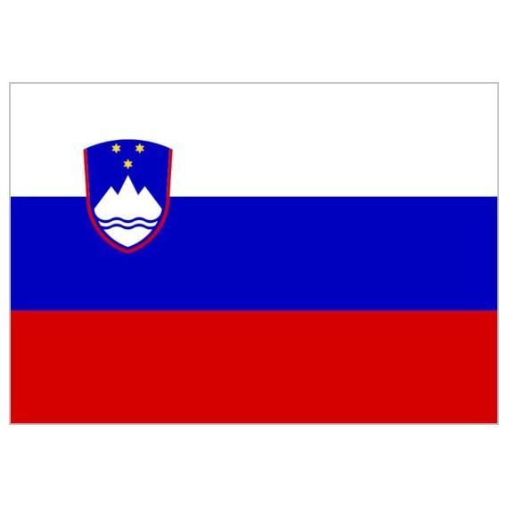 Bandera de Eslovenia de Poliéster Microperforada Reforzada