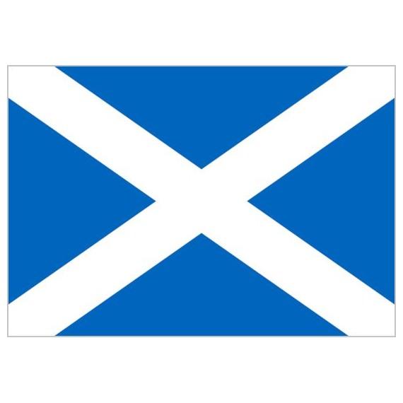 Bandera de Escocia de Poliéster Microperforada Reforzada