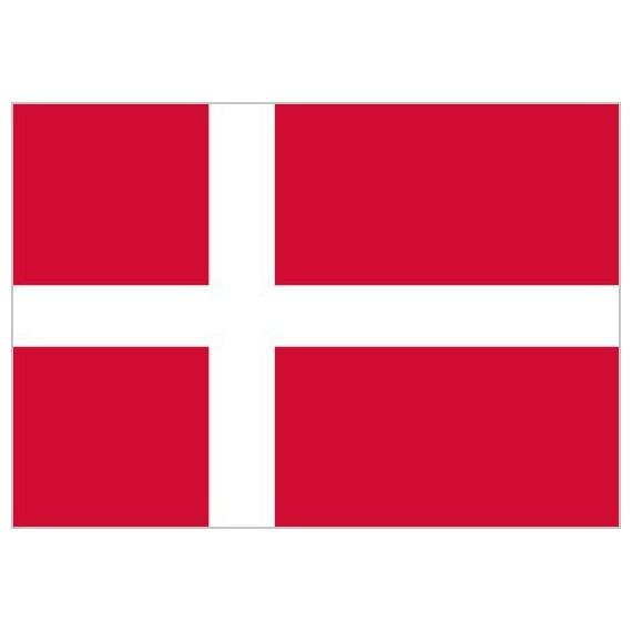 'Bandera de Dinamarca de Poliéster Microperforada Reforzada