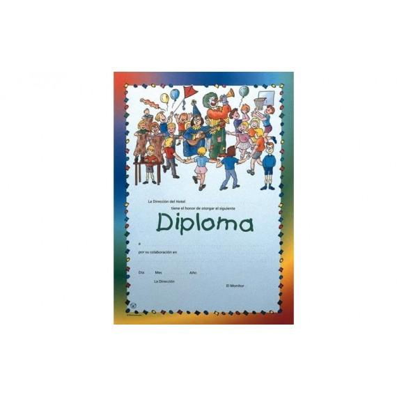 Diploma para Animación de Día