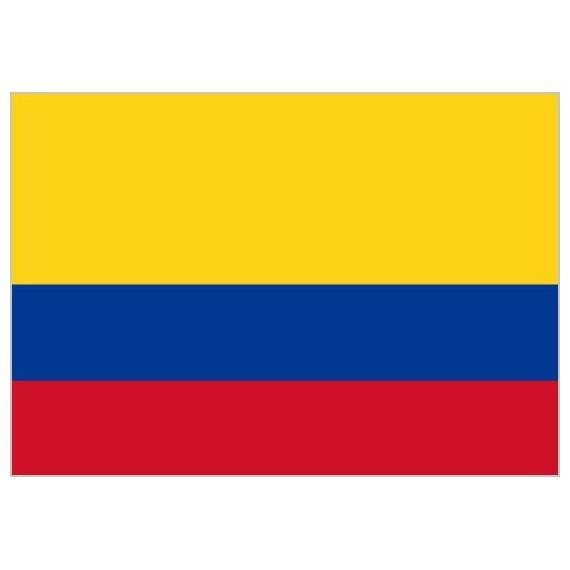 Bandera de Colombia de Poliéster Microperforada Reforzada