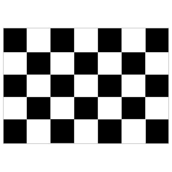 Bandera de Carreras de Poliéster Microperforada Reforzada