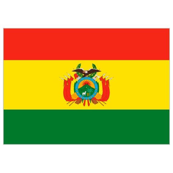 Bandera de Bolivia de Poliéster Microperforada Reforzada
