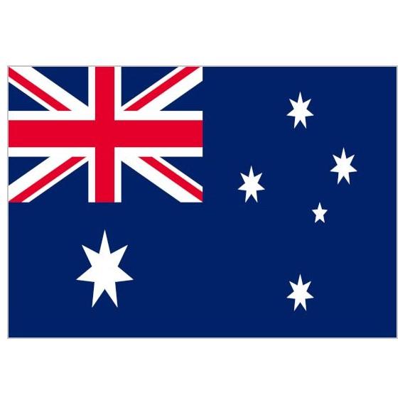 Bandera de Australia de Poliéster Microperforada Reforzada