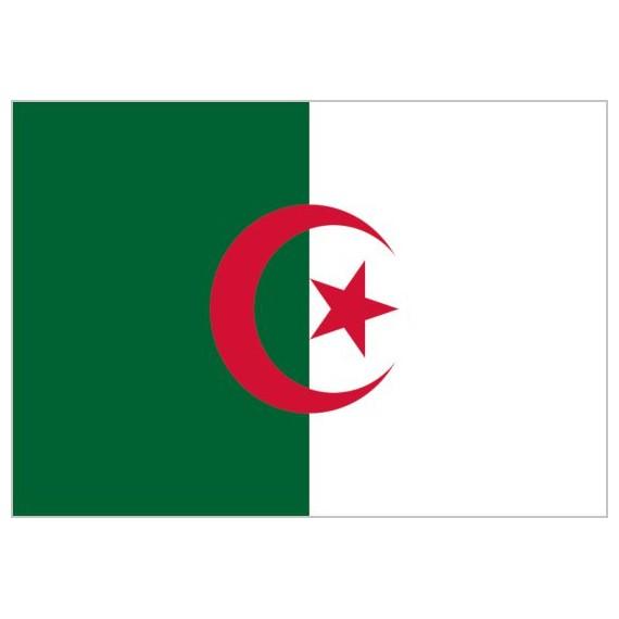 Bandera de Argelia de Poliéster Microperforada Reforzada