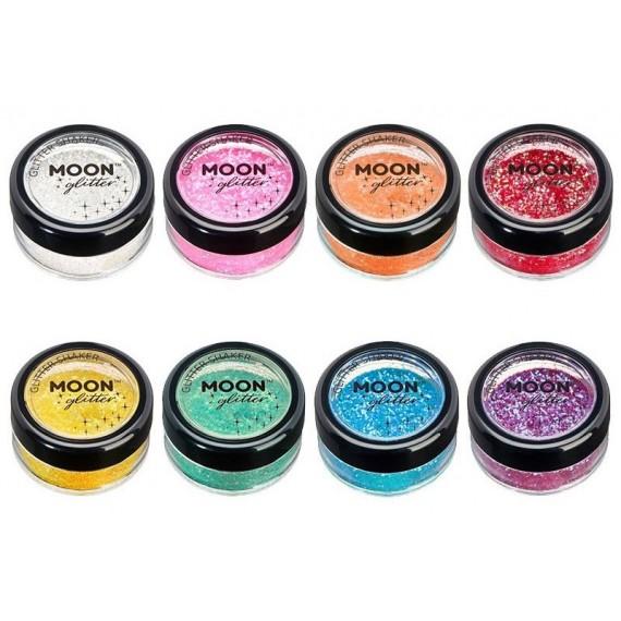Purpurina Suelta Moon Glitter Iridescent de 5 Gramos Color Iridiscente