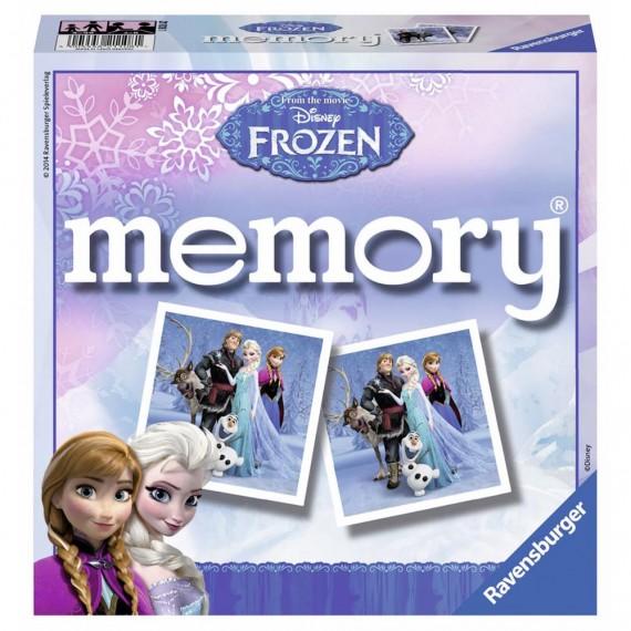 Juego Clásico de Mesa Memory Frozen