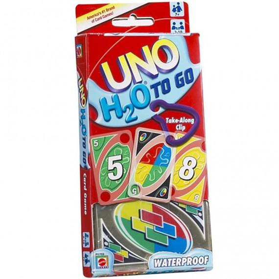 Juego de Cartas UNO H2O Impermeable de Mattel