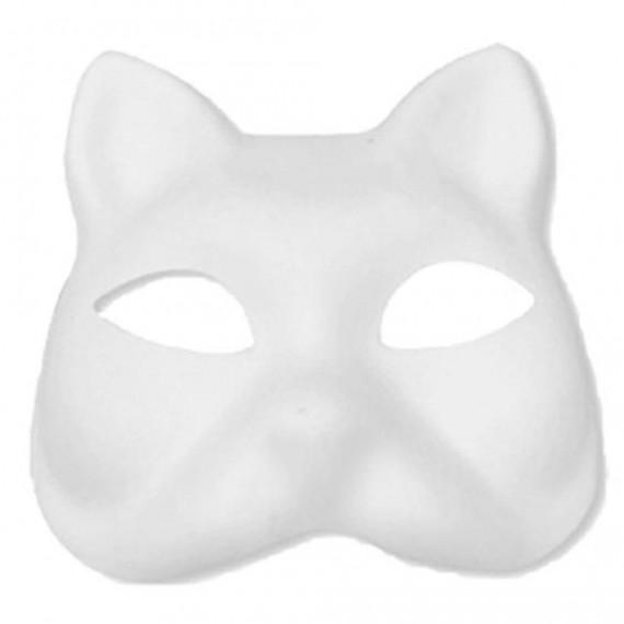Máscara para Pintar con forma de Cara de Gato