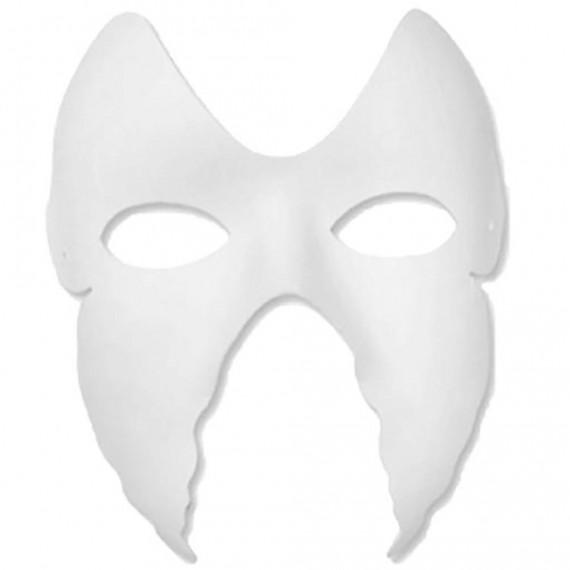 Máscara para Pintar con forma de Cara de Mariposa