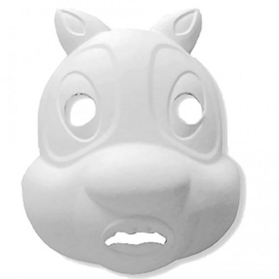 Máscara para Pintar con forma de Cara de Ardilla