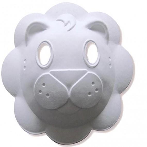 Máscara para Pintar con forma de Cara de León
