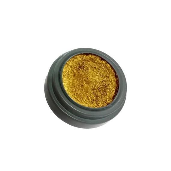 Maquillaje al Agua Metálico de 2,5 Mililitros de color Oro de Grimas