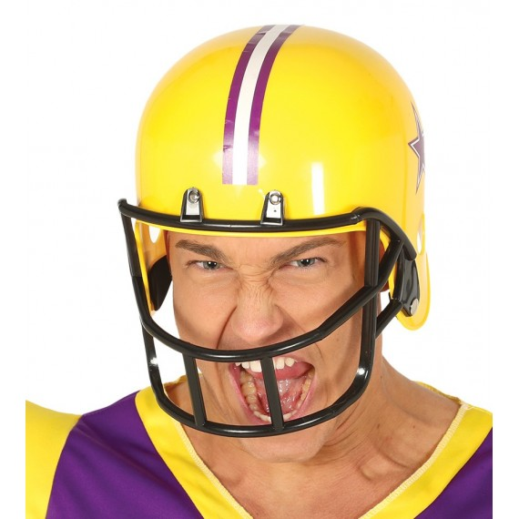 Casco de Fútbol Americano de color Amarillo para Adulto