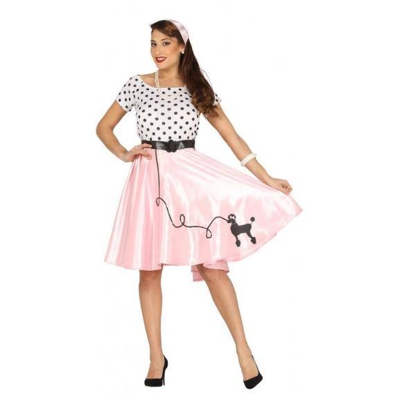 Disfraz de Chica Caniche para Adulto