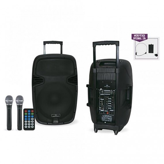 Sistema Audio Trasladable Combo 15