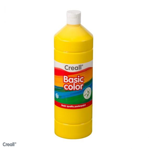 Témpera Líquida de 1000 Mililitros Marca Creall Varios Colores