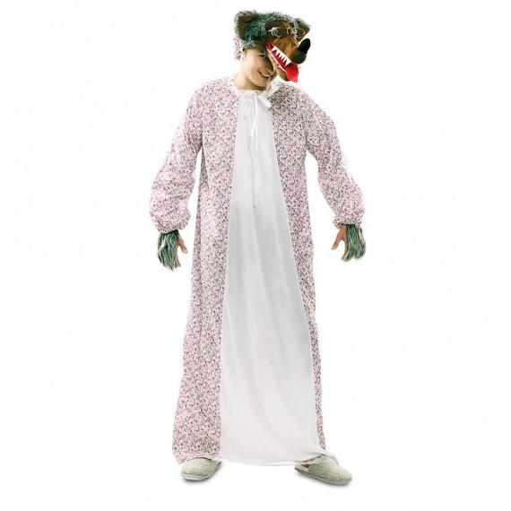 Disfraz de Abuela Lobo para Adulto