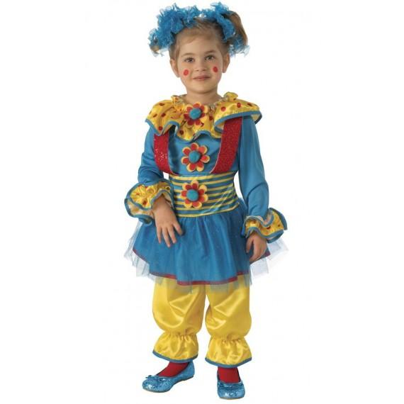 Disfraz de Payasita Puntitos Infantil