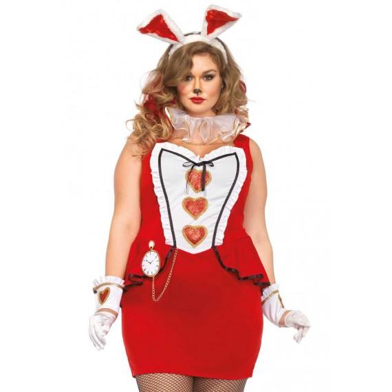 Disfraz de Conejo de la Fiesta de Té para Adulto