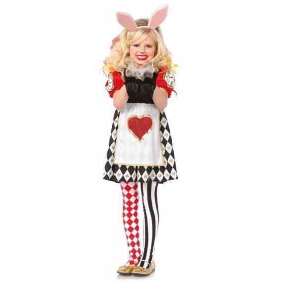 Disfraz de Conejo del País de las Maravillas Infantil