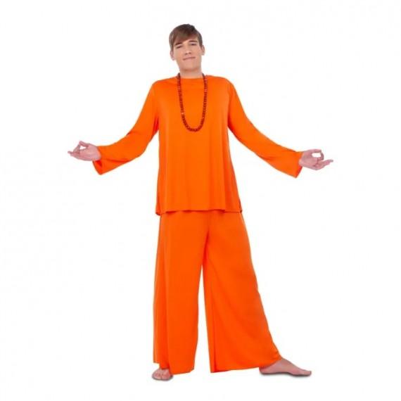 Disfraz de Discípulo de color Naranja para Adulto