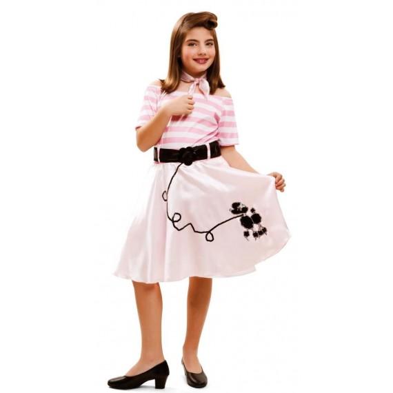 Disfraz de Pink Lady Infantil