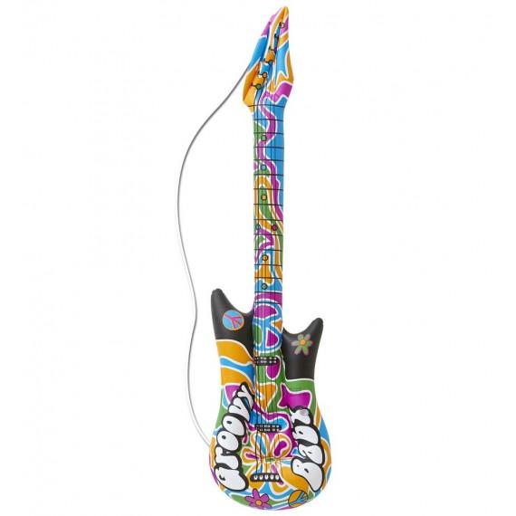 Guitarra Hinchable de Hippie Groovy de 105 Centímetros