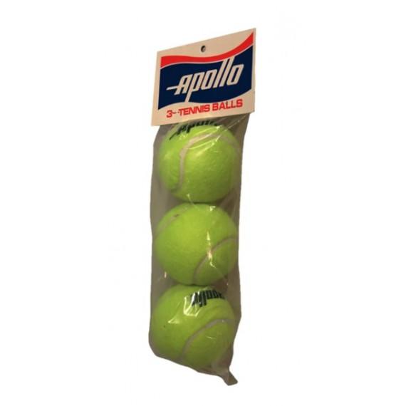 Blister con 3 Pelotas de Iniciación para Tenis Eco