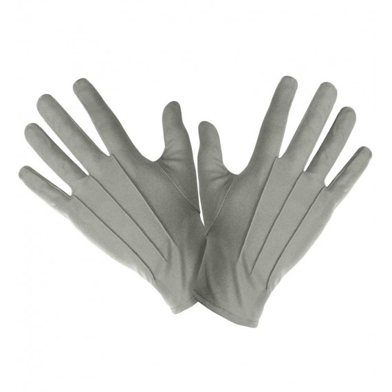 Guantes de color Gris para Adulto