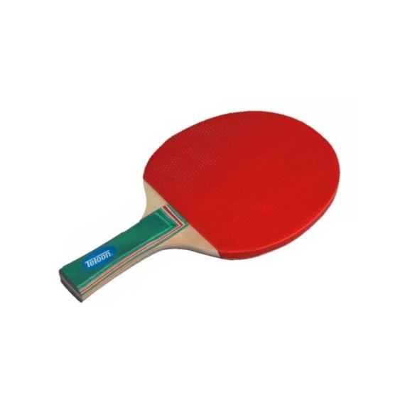 Pala de Goma con Puntos para Tenis de Mesa